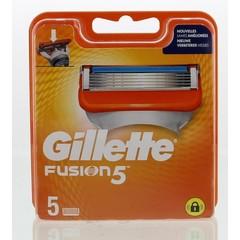 Gillette Fusion 5 manual mesjes (5 stuks)