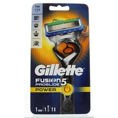 Gillette Fusion 5 pro glide power apparaat met 1 mesje (1 stuks)
