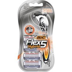 BIC Flex 5 hybrid shaver (4 stuks)