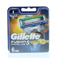 Gillette Fusion5 proglide power mesjes (6 stuks)