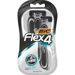 BIC Flex 4 comfort mesjes blister (3 stuks)