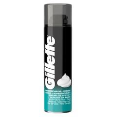 Gillette Basic schuim gevoelige huid (200 ml)