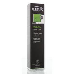 Logona Mann scheercreme (75 ml)