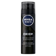 Nivea Men deep black shaving foam (200 ml)