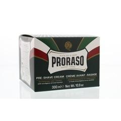 Proraso Preshave creme eucalyptus/menthol (300 ml)