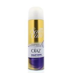 Gillette Satin care scheergel Olaz violet swirl (200 ml)