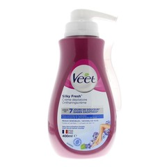 Veet Ontharingscreme gevoelige huid pomp (400 ml)
