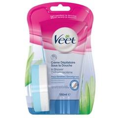 Veet In shower gevoelige huid (150 ml)