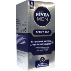 Nivea Aftershave balsem men active age (75 ml)