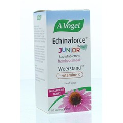 A Vogel Echinaforce junior & vitamine c (80 kauwtabletten)