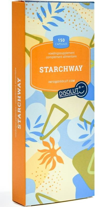 Disolut Disolut Starchway invertase glucoamyl (150 capsules)