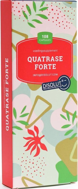 Disolut Disolut Quatrase enzym complex forte (108 capsules)