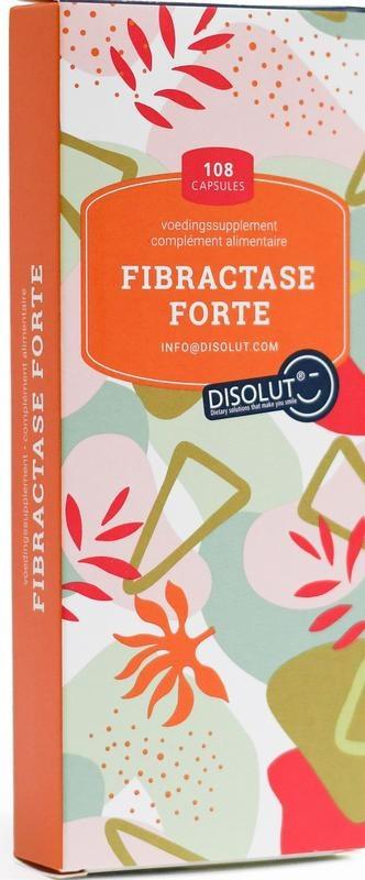 Disolut Disolut Fibractase forte (108 capsules)