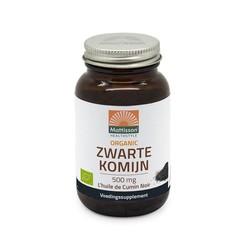 Mattisson Organic zwarte komijn 500 mg (90 capsules)