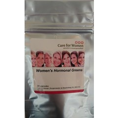 Care For Women Womens hormonal greens (30 capsules)