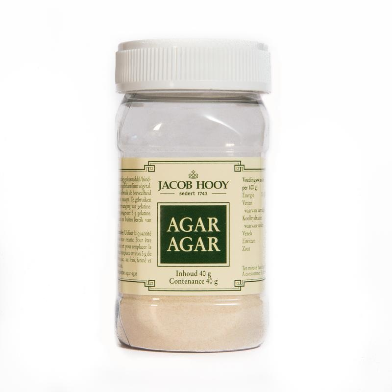 Jacob Hooy Jacob Hooy Agar agar (40 gram)