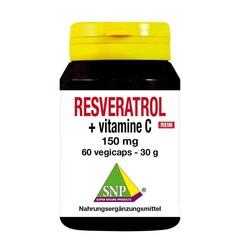 SNP Resveratrol + vitamine C 150 mg puur (60 vcaps)