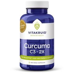 Vitakruid Curcuma C3-2X (120 vcaps)