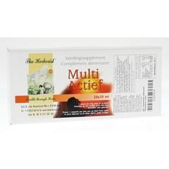 Herborist Multi actief 10 ml (20 ampullen)