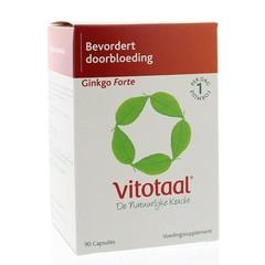 Vitotaal Ginkgo forte (90 capsules)
