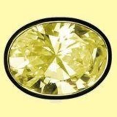 Lichtwesen Elohim zirkonia vreugde geel 56 (1 stuks)