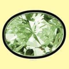 Lichtwesen Elohim zirkonia heling groen 59 (1 stuks)