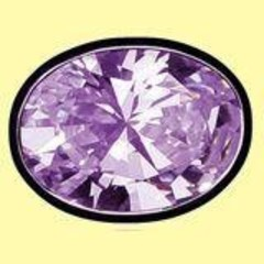 Lichtwesen Elohim zirkonia transformatie violet 61 (1 stuks)
