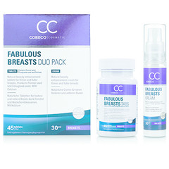 Cobeco Cosmetic Fabulous breasts 45 tabletten & 30 ml (1 set)