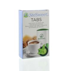 Stesweet Stevia tabs (250 tabletten)
