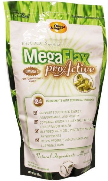 Megaflax Megaflax Megaflax pro aktief (454 gram)