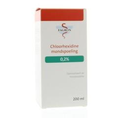 Fagron Chloorhexidine mondspoeling 0.2% (200 ml)