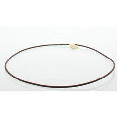 Lichtwesen Collier silicone bruin 45 cm (1 stuks)