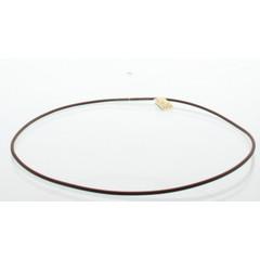 Lichtwesen Collier silicone bruin 50 cm (1 stuks)