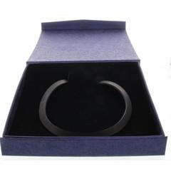 Lichtwesen Collier silicone zwart 45 cm (1 stuks)