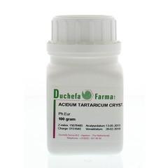 Duchefa Farma Acidum tartaricum crystal (100 gram)