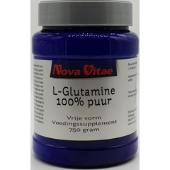Nova Vitae L-Glutamine 100% puur (750 gram)
