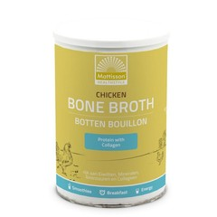 Mattisson Chicken bone broth - Botten bouillon kip (400 gram)
