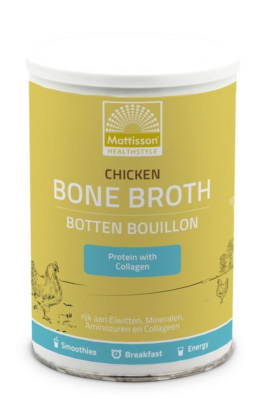 Mattisson Chicken bone broth - Botten bouillon kip (400 gram)
