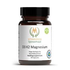 Vitamunda Liposomale D3 K2 magnesium (30 capsules)