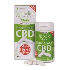 Neo Cure Lipodiol sterk, Liposomale CBD 5 mg (60 vcaps)