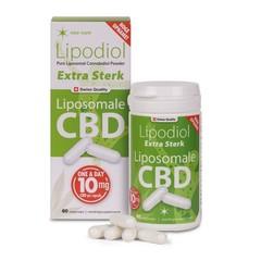 Neo Cure Lipodiol extra sterk, Liposomale CBD 10 mg (60 vcaps)
