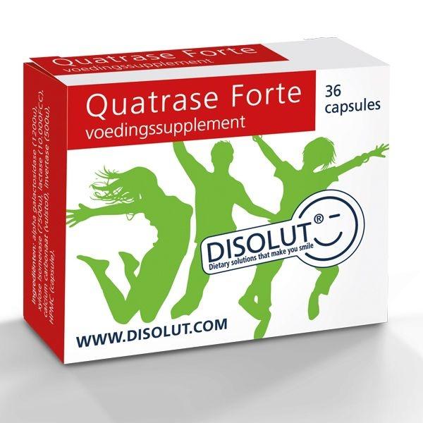 Disolut Disolut Quatrase enzym complex forte (36 capsules)
