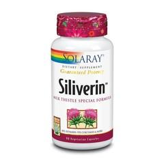Solaray Siliverin kurkuma & mariadistel (90 vcaps)
