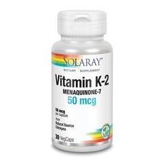Solaray Vitamine K2 MK-7 (30 vcaps)