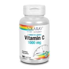 Solaray Vitamine C 1000 mg TR (100 vcaps)