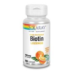 Solaray Biotine 1000 mcg (100 zuigtabletten)