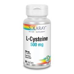 Solaray L-Cysteine 500 mg (30 vegetarische capsules)