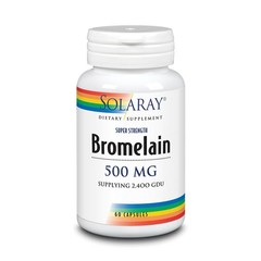 Solaray Bromelaine 500 mg (60 vcaps)