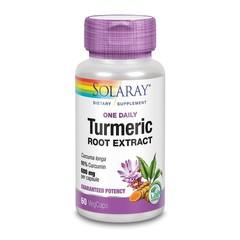 Solaray Kurkuma wortelextract 600 mg (60 vcaps)