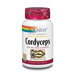 Solaray Cordyceps 500 mg (60 vcaps)